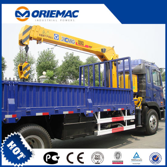Low Price 6.3ton Telescopic Boom Truck Mounted Crane Sq6.3sk3q pictures & photos