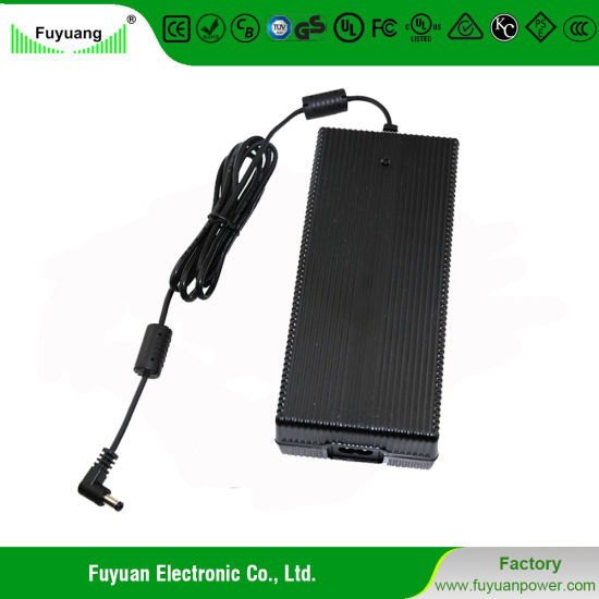 Fy4803500 48V 3.5A DC Power Adapter with Certificate