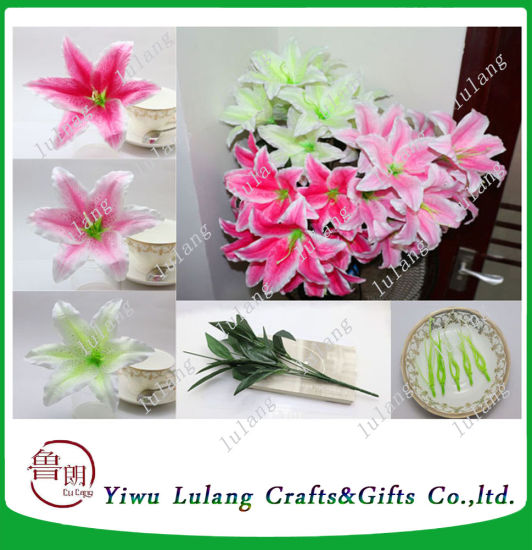 China perfume lily silk flower artificial wedding home decoration perfume lily silk flower artificial wedding home decoration tiger flower mightylinksfo