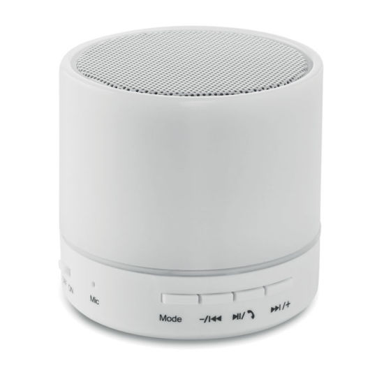 af1ace396 Mini Portable Wireless Round Bluetooth Speaker with LED Light with  Customized Logo pictures   photos
