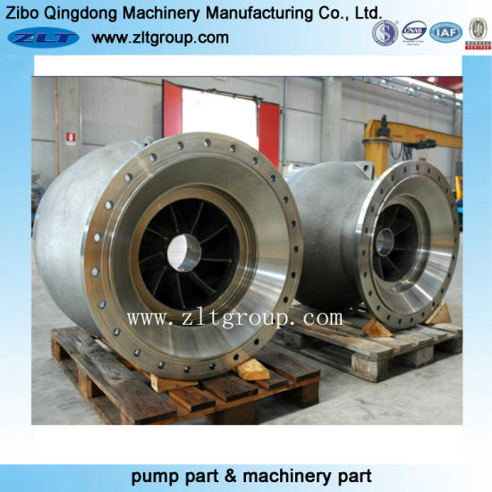 Sand Casting Pump Bowl in Cast Iron Material