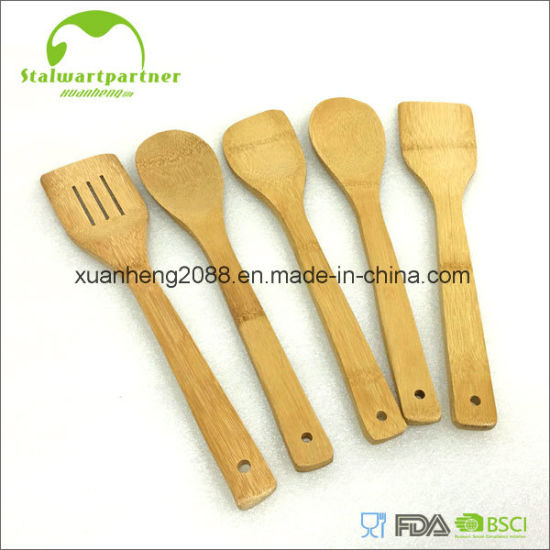 Bamboo Natural Kitchen Utensil Bamboo Spoon pictures & photos
