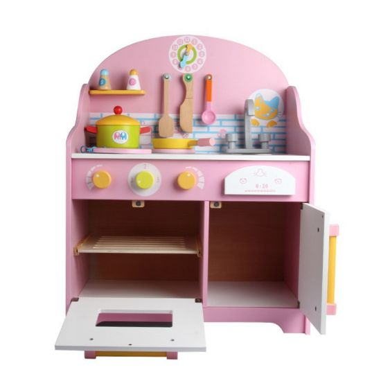 Pretend Play Kitchen Cooking Table Set