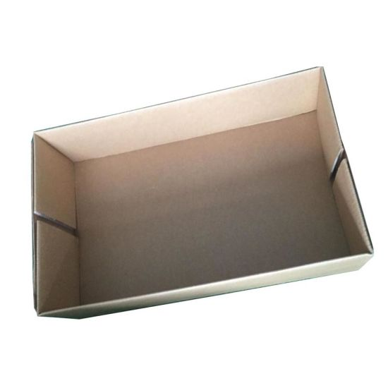 Corrugated Cardboard Mailing and Handle Box pictures & photos