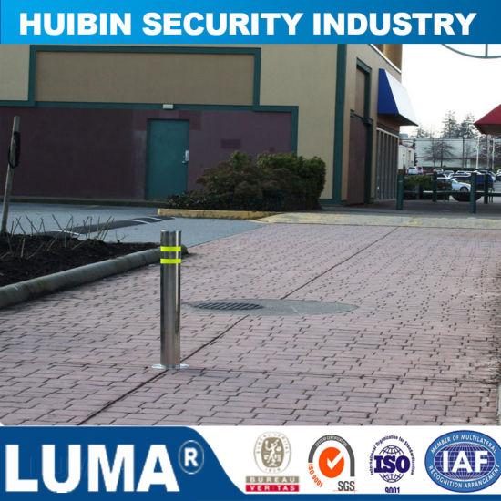 Stainless Steel Automatic Hydraulic Bollards for Saudi Arabia Market