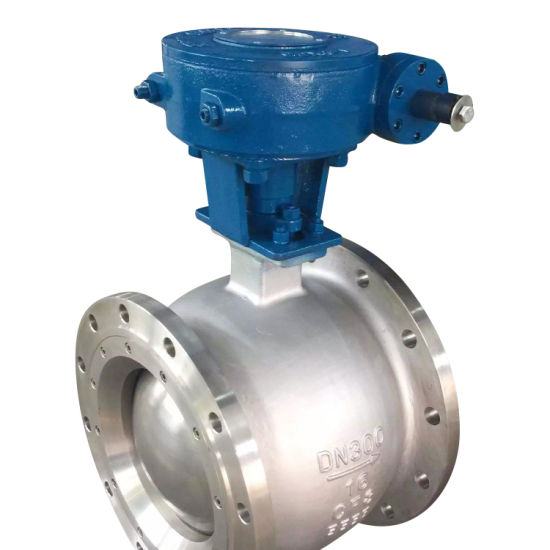 High Performance Cast Steel or Stainless Steel Eccentric Semi Ball Valve