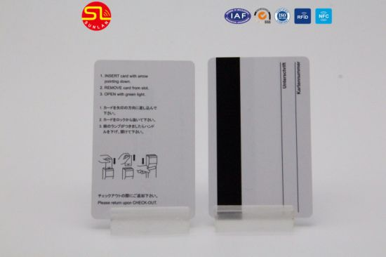 13.56MHz /125kHz RFID Blank Card with Barcode/Qr Code/Laser Mark (SL-1103) pictures & photos