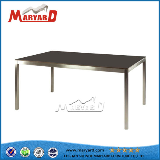 Tempered Glass Table Top Stainless Steel Kitchen