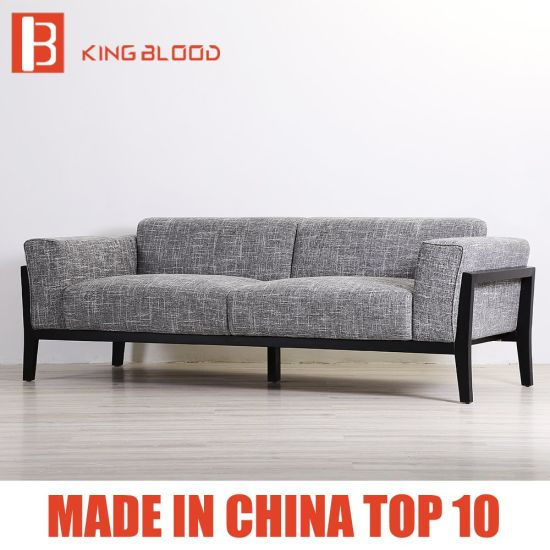 Hot Sale Grey Color Upholstery Fabric Couch Sofa Sets Designs