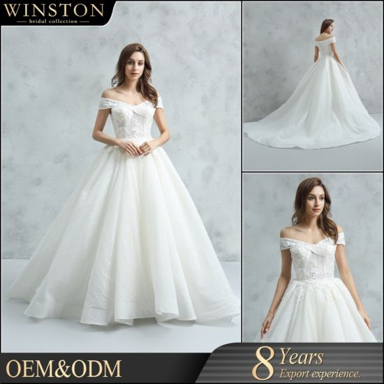 Aoliweiya Top Selling Crystal Ball Gown Wedding Dresses China Dresses And Wedding Dresses Price Made In China Com,Ball Gown Most Popular Wedding Dresses