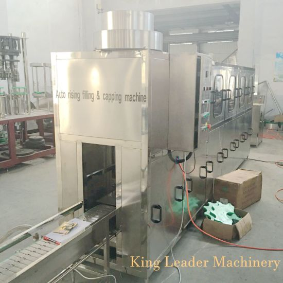 Recycle Bottle 5 Gallon Bucket Pure Water Drinking Water Production Line Filling Capping Machine