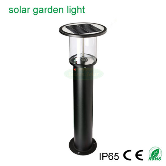 High Lumen LED Lighting Garden Bollard Outdoor Solar Light for Garden Lighting
