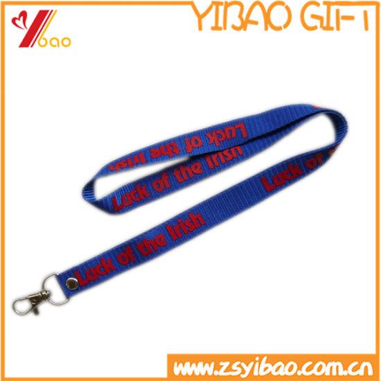 Wholesales Polyester Ribbon Lanyard