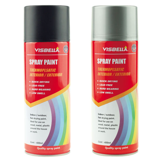 Factory Price Multi Colors Customized Aerosol Plastic Spray Paint With Msds