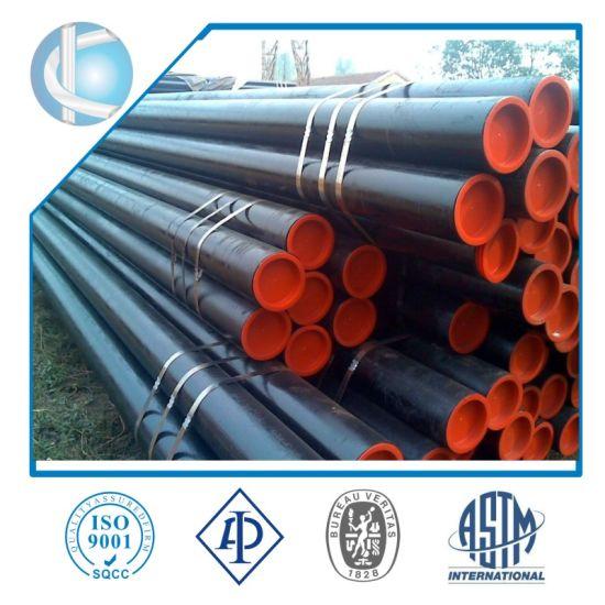 ASTM A106/A53 Gr. B/API 5L Gr. B /A179/A192/API 5CT J55/K55/N80 Carbon Psl1 Psl2 Seamless Steel Pipe