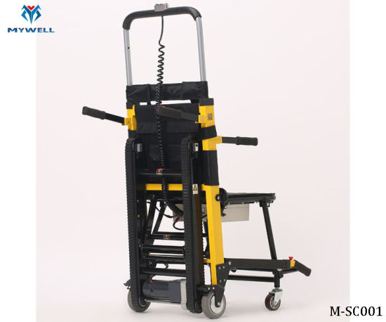 M-ESC001 Aluminium Alloy Wheelchair Electric Lift Stair Climbing Chair pictures & photos