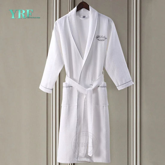 f105cd836f China Wholesale 100% Cotton Waffle Cloth Fabric Hotel Terry Bathrobe ...