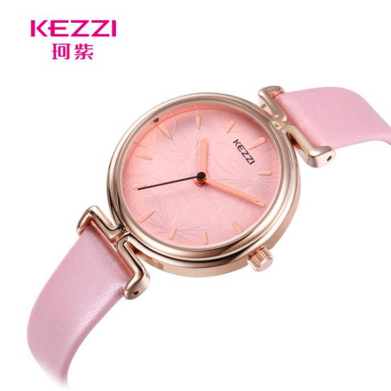 5b0a2e326 China Kezzi Golden Stereoscopic Female Quartz Wrist Watches - China ...