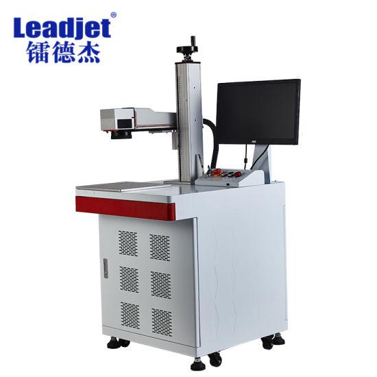 Long Service Life Fiber Laser Printer Laser Marking Machine for Meatal PVC