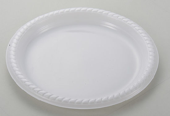 China White Disposable Plastic Dishes