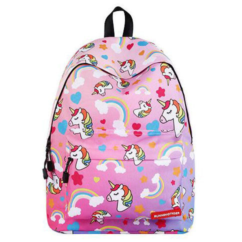 Outdoor Travel Backpack New School Girls School Bags Wholesale