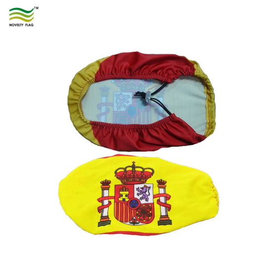 Spain National Flag Custom Made Car Mirror Cover pictures & photos