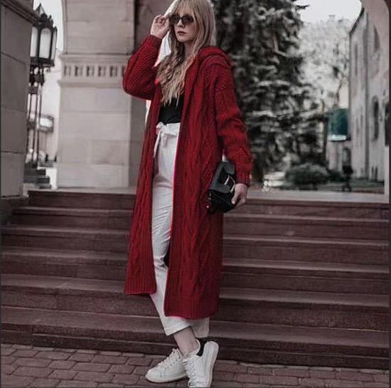 Winter Jacket Coat Factory Women's Hoody Sweater Outer Wear