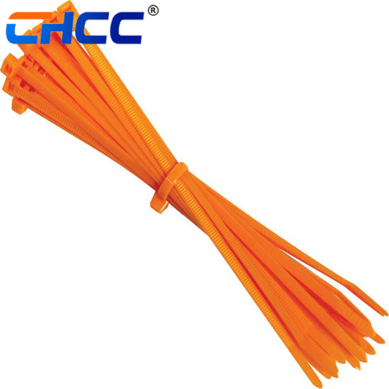 4.8*500 Nylon Plastic Zip Trim Wrap Cable Loop Ties Wire Self-Lock