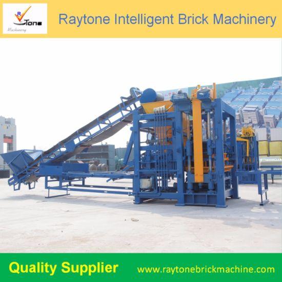 Best Quality Automatic Hollow Brick Making Machine Qt6-15b