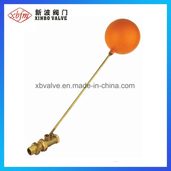Brass Float Ball Valve with Plastic Ball pictures & photos