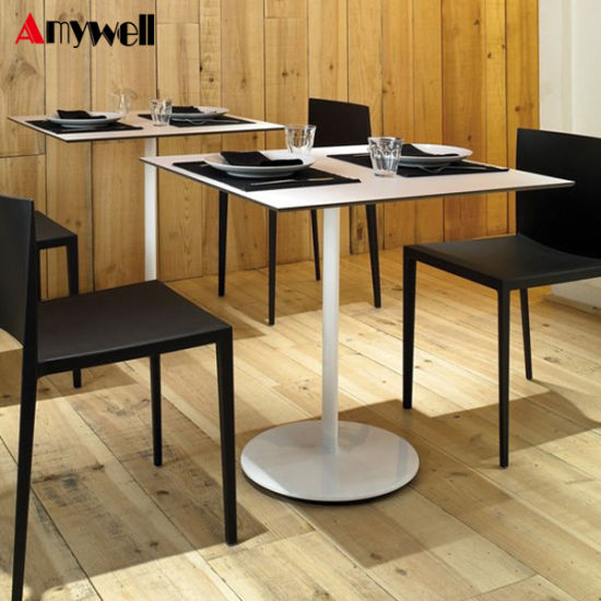 China Amywell Ce Certificate Waterproof Formica HPL Restaurant Resin - Restaurant resin table tops