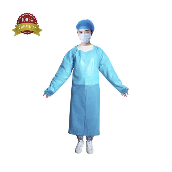 Waterproof Disposable CPE Gowns