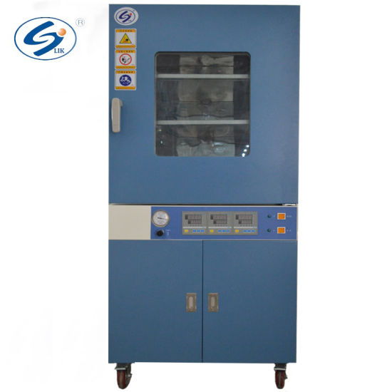 Vacuum Drying Oven with Time-Control and Stainless Frame