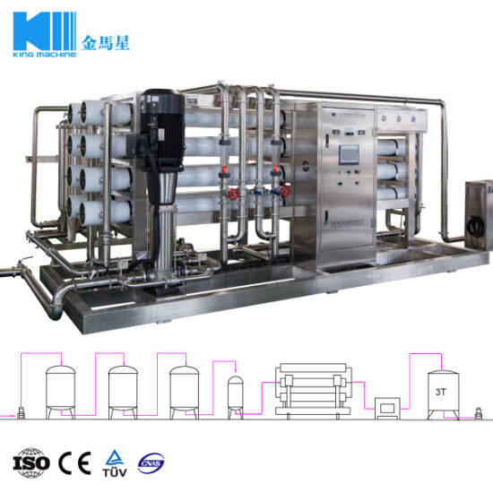 Purified Drinking Water Treatment Processing Machine with Price pictures & photos