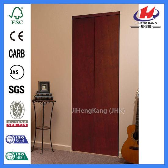 China 24 Inch Solid Core Door Bifold Doors Cost Concertina Doors ...