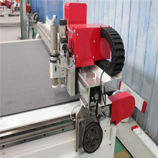 Corrugated Board Leather Cutter CNC Oscillating Knife Cutting Machine 1625