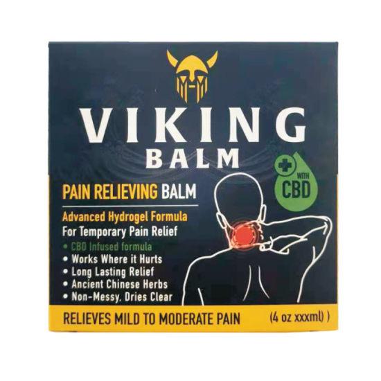 Private Label Natural Organic Pain Relief Skin Care Hemp Oil Cbd Balm