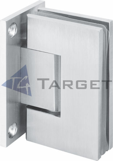 90 Degree Stainless Steel Glass to Wall Shower Hinge (SHT-B-ST) pictures & photos