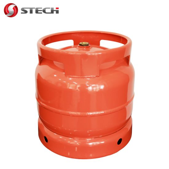 DOT Ce ISO4706 6kg 13L Empty LPG/Propane/Butane Gas Cylinder/Tank/Bottle South Africa Zimbabwe for Cooking Camping BBQ Kitchen