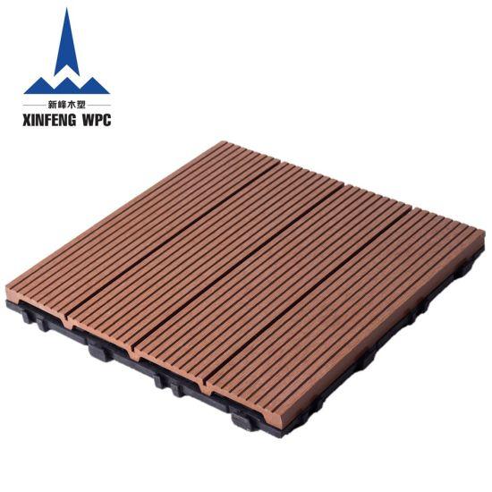 Huzhou Xinfeng High Quality WPC DIY Decking Tiles