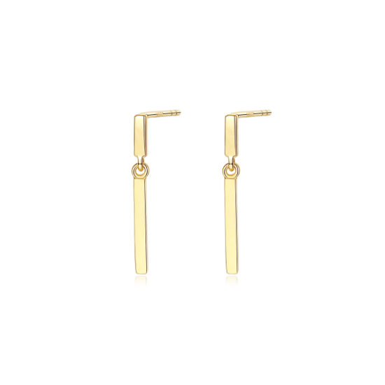 China Simple Temperament 14k Solid Gold