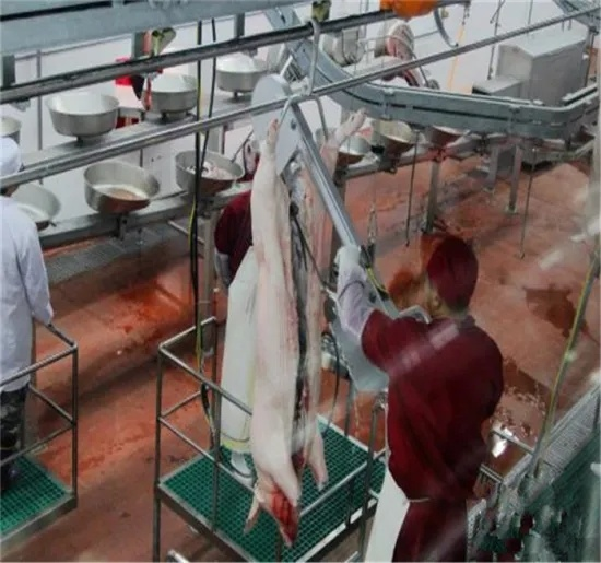 Automatic Pig Carcass Splitting Half Band Saw Machine Pig Slaughtering Cutting Machine for Slaughterhouse Abattoir