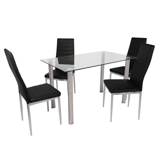 New Design Modern Furniture Glass Dining Table