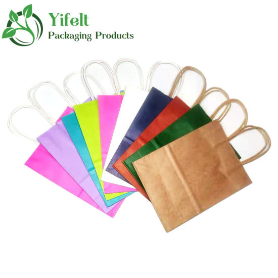 Wholesale Low Price Kraft Paper Bag Take out Food Bag Custom Printing Fashion Recyclable
