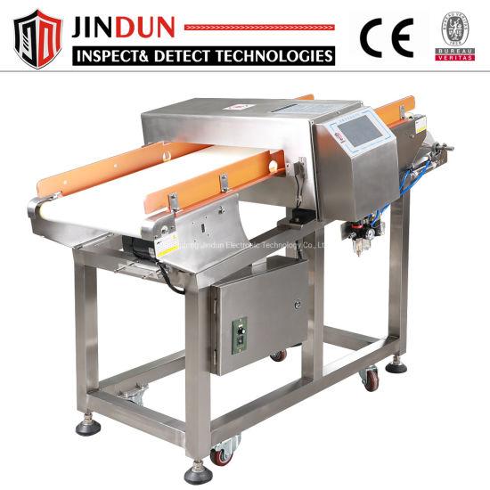High Sensitivity Conveyor Belt Food Processing Industry Metal Detector for Cookies Bread Cheese Chocolate
