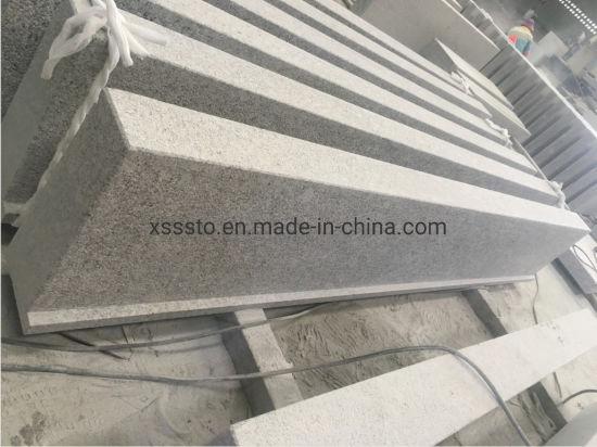 China G602 Grey Granite Outdoor Window Sills For Bush Hammered