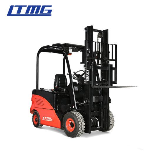 China Ltmg Brand 1.5ton 2ton 2.5ton 3ton 4ton 5ton Electric Forklift for Sale Montacargas PARA La Venta
