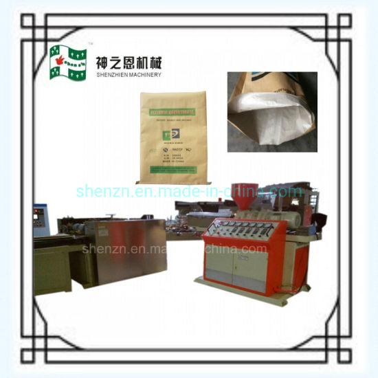 HDPE PP Laminated Paper Bag Making Machine with Inline Printer