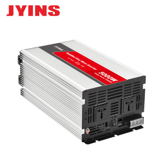 5000W Peak Pure Sine Wave Power Inverter DC 12V To 110V 120V AC converter LED US