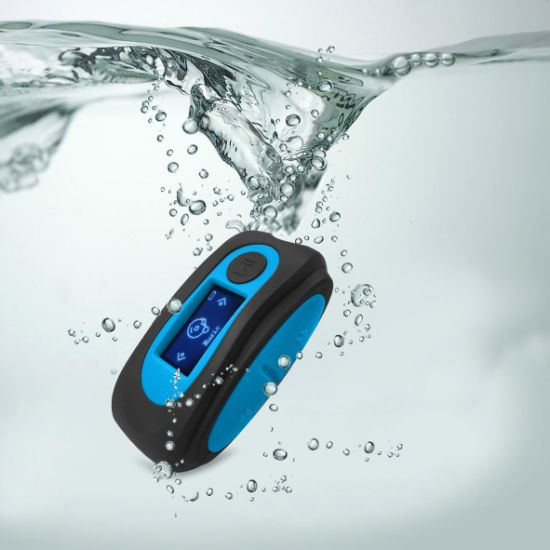 5b1640548be Swimming MP3 Player Ipx8 Waterproof Music Player with Waterproof Headphones  pictures & photos